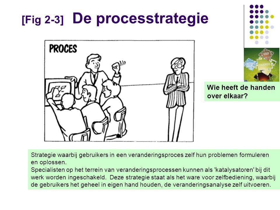 [Fig 2-3] De processtrategie